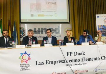 La Cámara de Comercio de Motril, FPEmpresa y Dualiza Bankia reconocen a las empresas que apuestan por la FP Dual