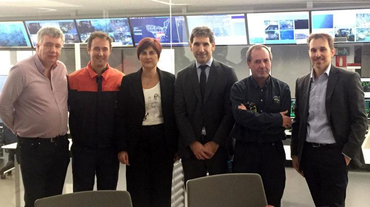 Directores de centros de FP europeos visitan Somorrostro y Petronor