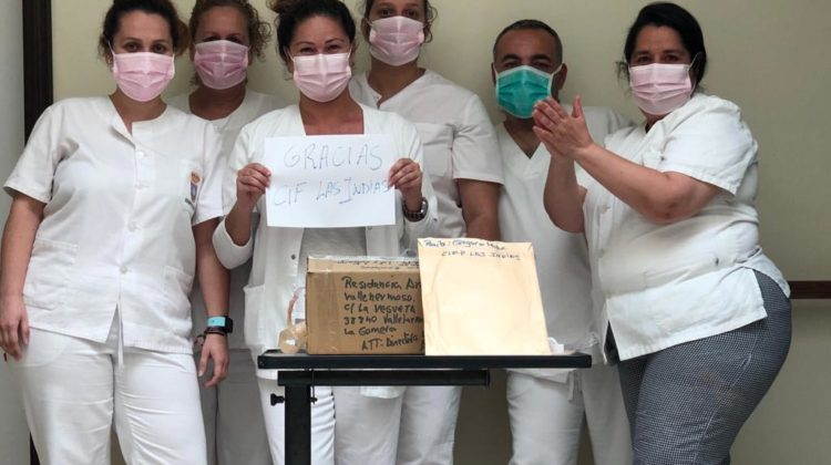 La solidaridad de la FP ante el coronavirus