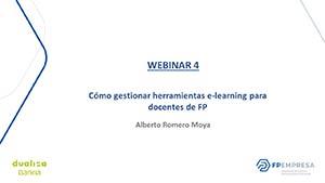 Cómo gestionar herramientas e-learning para docentes de FP