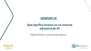 Qué significa innovar en un entorno educativo de FP