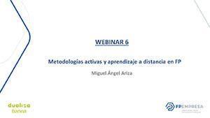 Metodologías activas y aprendizaje a distancia en FP