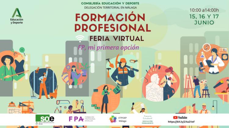Feria Virtual de Formación Profesional de Málaga