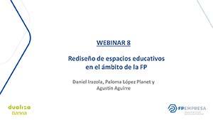Rediseño de espacios educativos en el ámbito de la FP