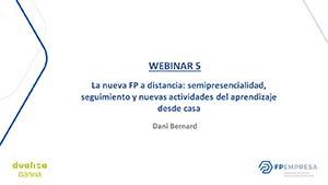 La nueva FP a distancia: semipresencialidad, seguimiento y nuevas actividades del aprendizaje desde casa