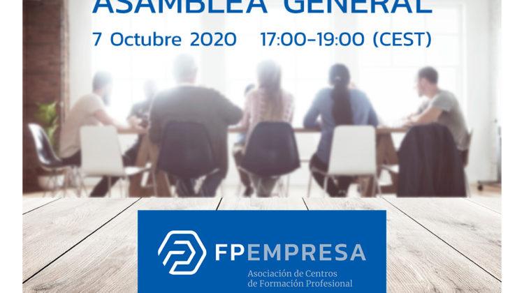 FPEmpresa convoca su Asamblea General para el próximo 7 de octubre