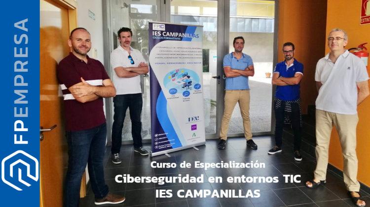 El IES Campanillas pionero en la oferta formativa sobre ciberseguridad