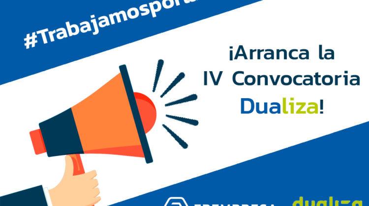 Comienza la IV edición de la Convocatoria Dualiza