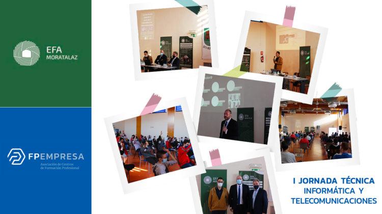 EFA Moratalaz organiza la I Jornada Técnica dedicada al sector de la Informática y las Telecomunicaciones