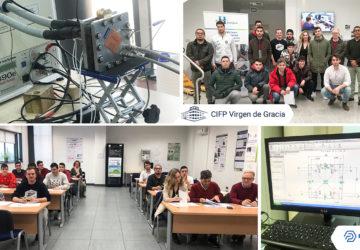 Innovación energética en el proyecto PILA ECO-PEM del CIFP Virgen de Gracia