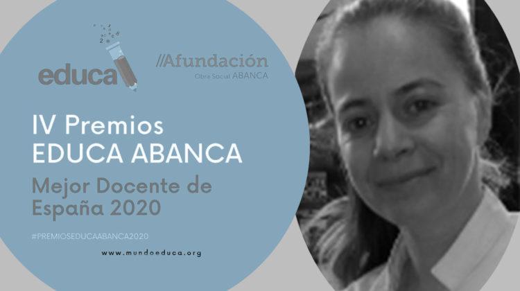 """ENTREVISTA a Almudena Redondo Mata: """"Me esfuerzo por que el alumnado reconozca al docente como espejo en el que mirarse"""""""