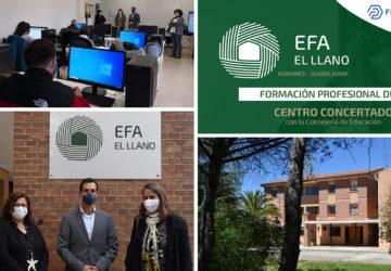 EFA EL LLANO recibe el Premio Excelencia 2020 CEOE Guadalajara