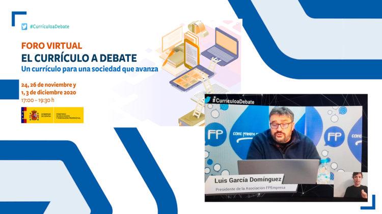 """FPEmpresa participa en el tercer foro de """"El Currículo a debate"""", sesión organizada por el MEFP"""