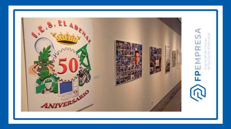 El IES El Arenal celebra sus 50 años de historia al servicio de la formación de profesionales