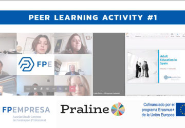 FPEmpresa participates along with other European institutions in the first peer learning activity of PRALINE project