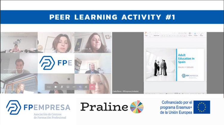 FPEmpresa participa junto con otras entidades europeas en la primera sesión formativa del proyecto PRALINE