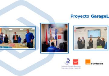 El IES Francisco Tomás y Valiente fomenta la innovación digital con la presentación del proyecto GarageLab
