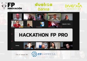 El Centro San Valero se alza como vencedor en el I Hackathon FP PRO