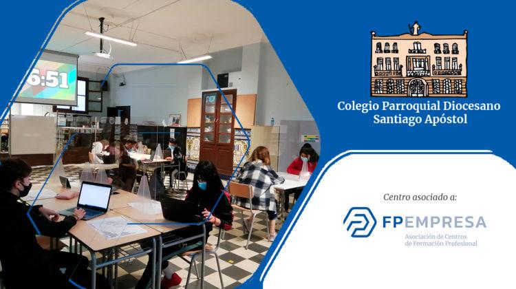 El Colegio Santiago Apóstol del Cabañal apuesta por la innovación empresarial en zonas con dificultades socioeconómicas