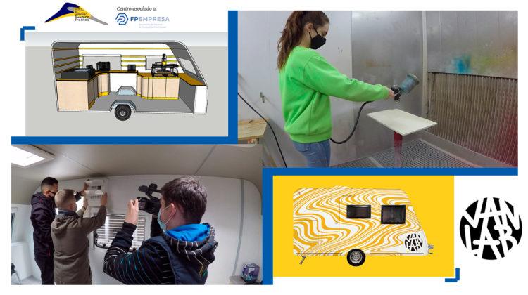 El CIFP Pico Frentes impulsa la industria 4.0 y la transformación digital a bordo de un laboratorio de fabricación móvil