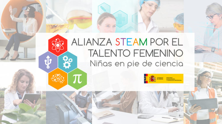 FPEmpresa joins the STEAM Alliance for women's talent promoted by the Ministry of Education and Vocational Training