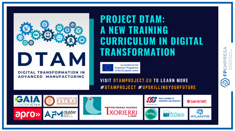 DTAM project creates a new curriculum in digital transformation key to advanced manufacturing