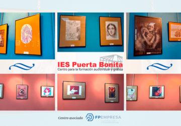 Una exposición en el IES Puerta Bonita muestra el lado más creativo de su alumnado