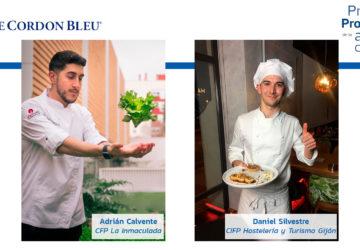 Adrián Calvente y Daniel Silvestre finalistas del Premio Promesas de la alta cocina de Le Cordon Bleu