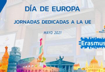 El IES Ribera del Tajo celebra el Día de Europa promoviendo sus proyectos Erasmus+
