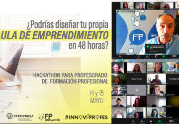 The Innovaprofes Hackathon to create a Classroom for Entrepreneurship successfully completed