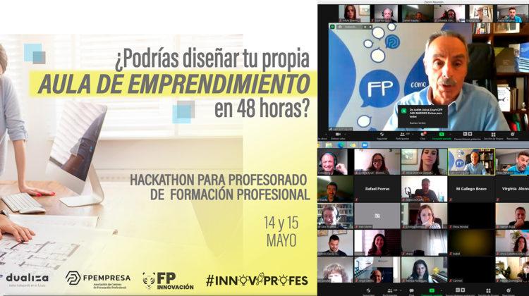 Finaliza con éxito el Hackathon Innovaprofes para crear una APE en 48 horas