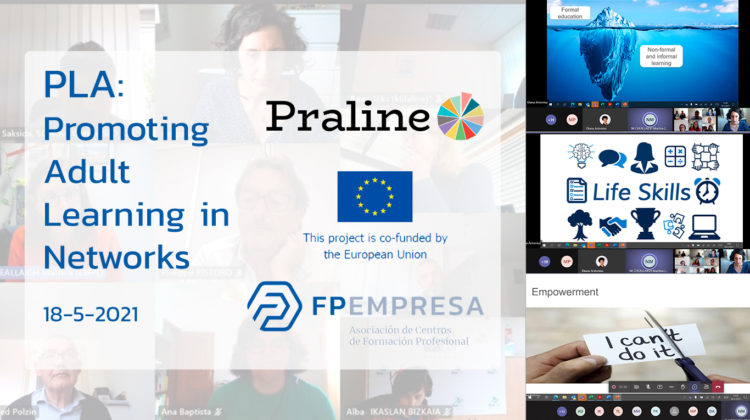 PRALINE holds its second PLA on sustainability in the field of lifelong learning
