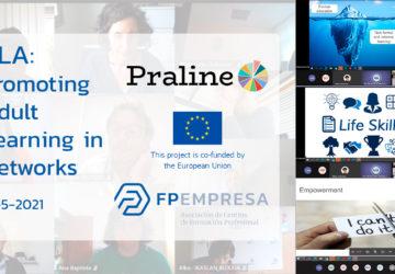 PRALINE celebra su segunda PLA sobre sostenibilidad en el aprendizaje permanente