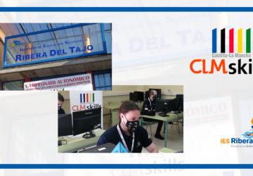 El IES Ribera del Tajo finaliza con éxito las CLM-Skills de Desarrollo Web