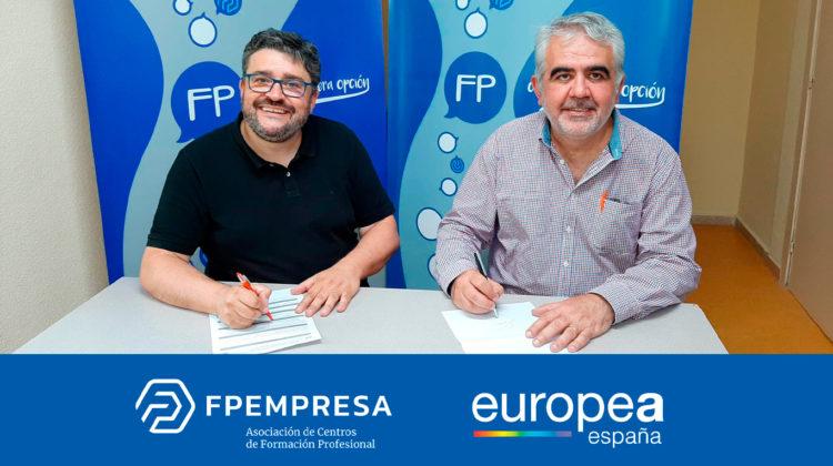 FPEmpresa y Europea España firman acuerdo de colaboración por la FP de la economía verde