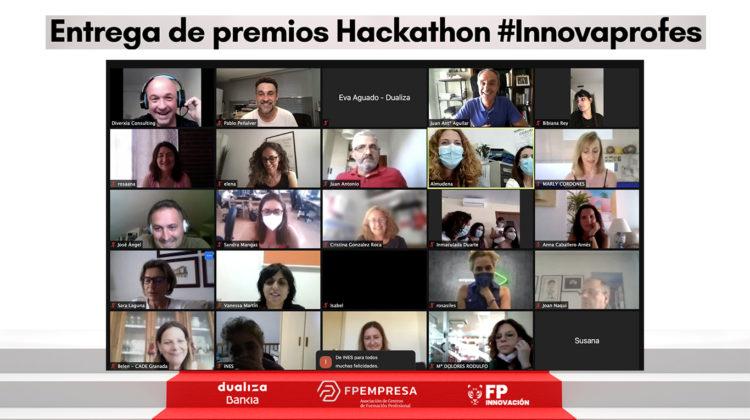 El CIPFP Mislata se alza con el tercer premio en el Hackathon INNOVAPROFES