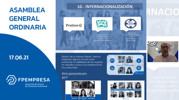FPEmpresa celebra su Asamblea General Ordinaria 2021