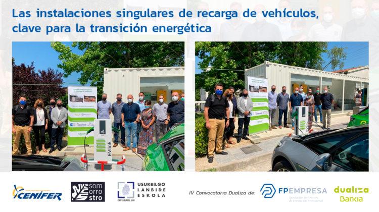 Tres centros asociados apuestan por la movilidad eléctrica como clave para la transición energética