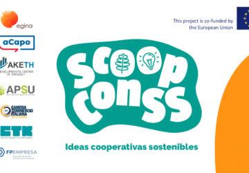 SCoopConSS: el alumnado diseña sus propuestas de cooperativas en la recta final del proyecto