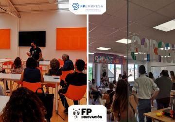 Profesorado de FP de Andalucía visita las APEs de centros asociados en Madrid y Toledo