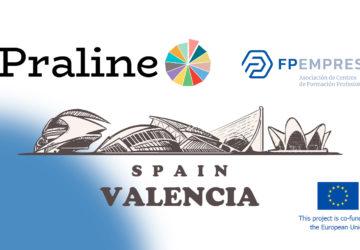 FPEmpresa acoge en Valencia la primera actividad presencial del proyecto PRALINE