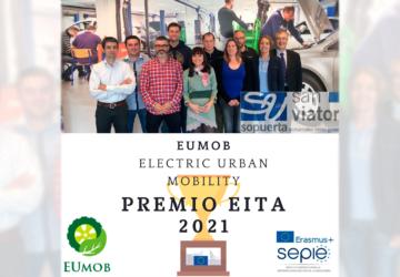 El Centro San Viator recibe el premio EITA 2021 del SEPIE