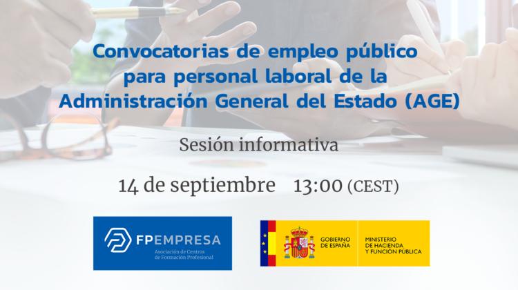 FPEmpresa y la Dirección General de la Función Pública apuestan por la empleabilidad en FP
