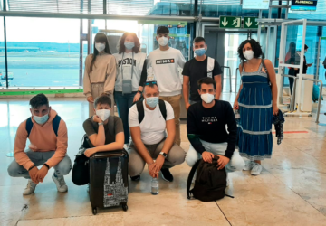 The Spanish delegation leaves for the SCoopConSS final in Florence