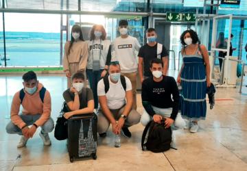 La delegación española parte rumbo a la final de SCoopConSS en Florencia